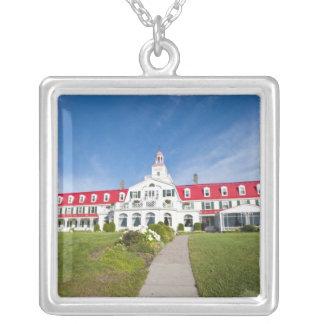 Collier Le Québec, Canada. Hôtel historique Tadoussac,