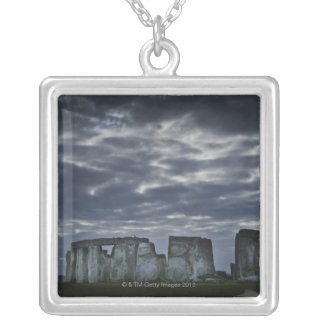 Collier Le R-U, Stonehenge, vue pittoresque à l'aube