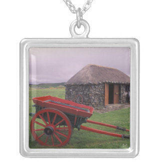 Collier L'Ecosse, île de Skye, Kilmuir. Paysage rural