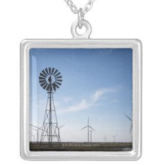 Collier Les Etats-Unis, le Texas, Vega, vieux moulin à
