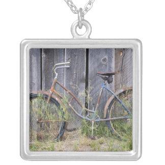 Collier Les Etats-Unis, Orégon, courbure. Un vieux vélo