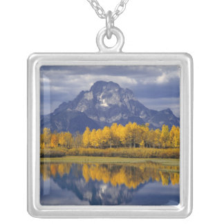 Collier Les Etats-Unis, Wyoming, Teton grand NP. Contre
