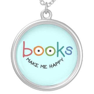 Collier Les livres me rendent heureux