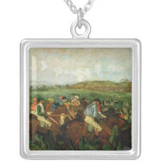 Collier Les messieurs d'Edgar Degas | emballent, avant le