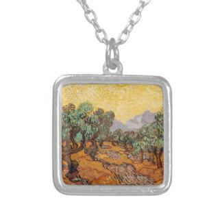 Collier Les oliviers de Vincent Van Gogh (Olives trees)