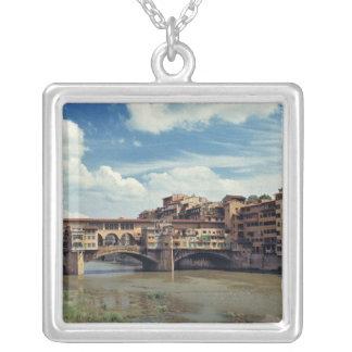 Collier L'Europe, Italie, Florence. Le Ponte Vecchio