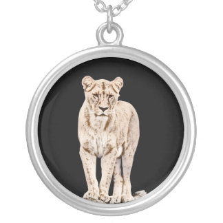 Collier Lionne majestueuse