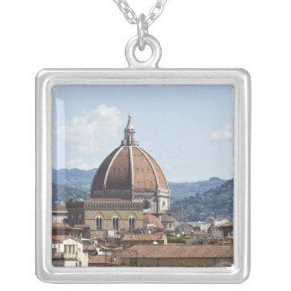 Collier L'Italie, Florence, paysage urbain avec le Duomo