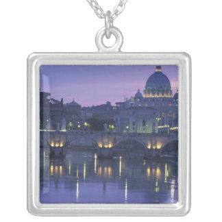 Collier L'Italie, Rome St Peter et le Ponte Sant Angelo,