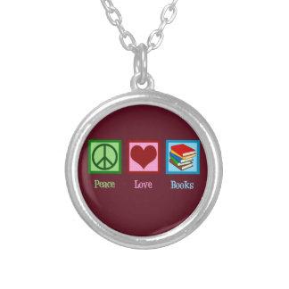 Collier Livres d'amour de paix