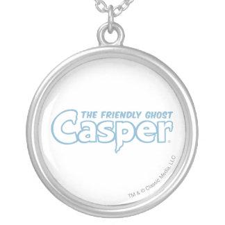 Collier Logo bleu d'ensemble de Casper