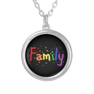 Collier Logo de famille de LGBT