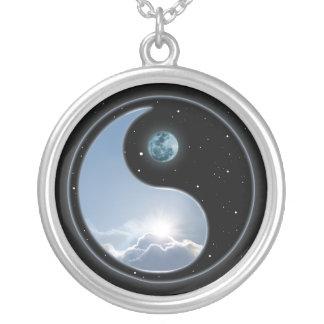 Collier Lune Sun de Yin Yang