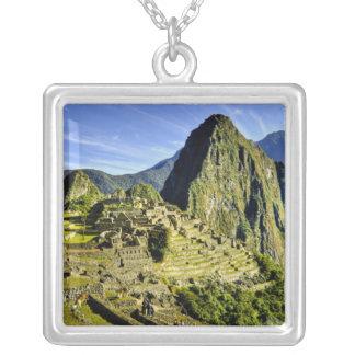 Collier Machu antique Picchu, dernier refuge de