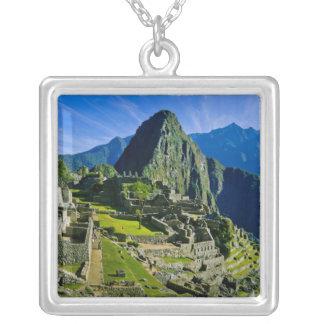Collier Machu antique Picchu, dernier refuge des 2