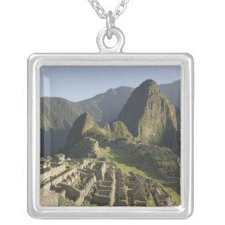 Collier Machu Picchu, ruines de ville d'Inca, Pérou