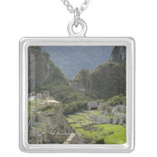 Collier Machu Picchu, ruines de ville d'Inca, Pérou. 2