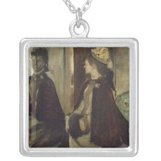 Collier Madame Jeantaud d'Edgar Degas | dans le miroir