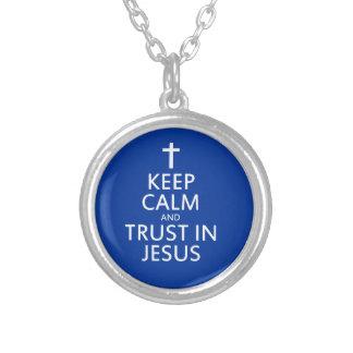 Collier Maintenez le calme et la confiance dans Jésus