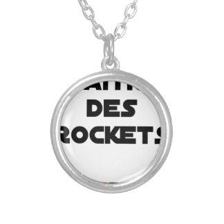 Collier MAÎTRE DES ROCKETS - Jeux de mots - Francois Ville