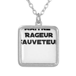 Collier Maître Rageur Sauveteur - Jeux de Mots