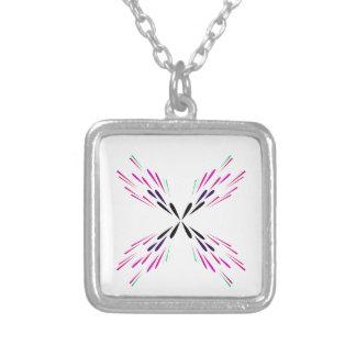 Collier Mandala de conception sur le blanc