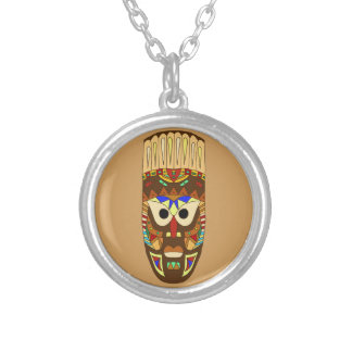 Collier masque africain traditionnel