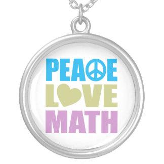 Collier Maths d'amour de paix