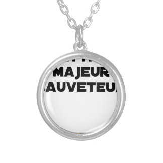 Collier METTRE MAJEUR SAUVETEUR - Jeux de mots