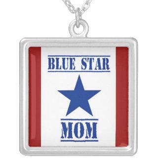Collier Militaires de maman d'étoile bleue