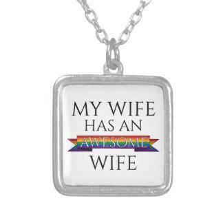 Collier Mon épouse a une épouse impressionnante