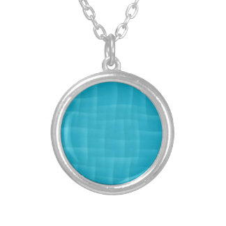 Collier motif bleu