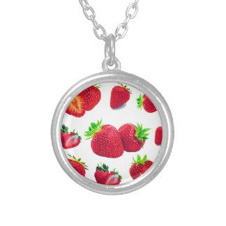 Collier Motif de fruit de fraise