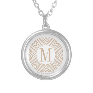 Collier Motif grec de femme de merveille