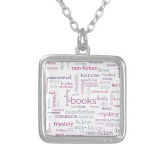 Collier Mots pour des livres