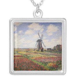 Collier Moulin à vent de Rijnsburg de champs de tulipe de