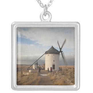 Collier Moulins à vent antiques de Mancha de La, avec des