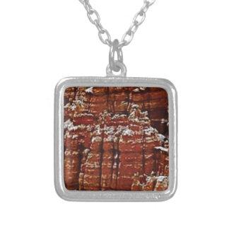 Collier mur de roche de forme de forme d'érosion