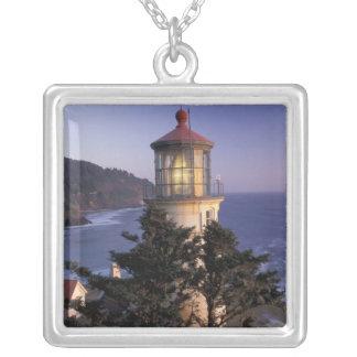 Collier Na, Etats-Unis, Orégon, phare principal de Heceta,