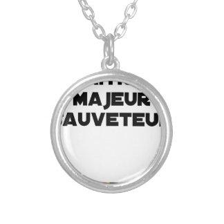 Collier Naître Majeur Sauveteur - Jeux de Mots