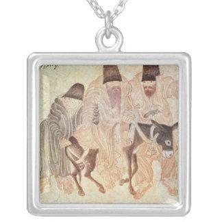 Collier Nomades mongols avec un âne, XVème siècle