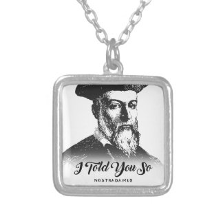 Collier Nostradamus : Je vous ai dits ainsi