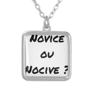 Collier NOVICE OU NOCIVE ? - Jeux de mots - Francois Ville