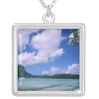 Collier Océanie, Polynésie française, Tahiti. Vue de