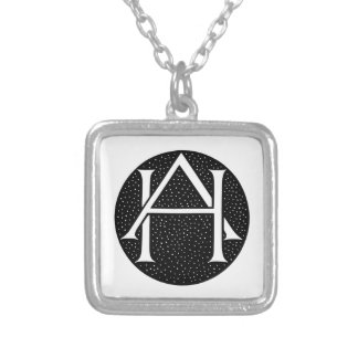 Collier OH monogramme