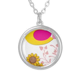 Collier oiseau floral, art, conception, beau, nouvelle,