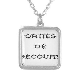 Collier Orties de secours - Jeux de Mots - Francois Ville