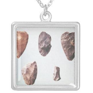 Collier Outils en pierre préhistoriques, de Grotte De