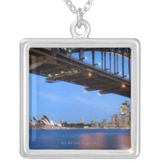 Collier Panorama de pont de port de Sydney, opéra de