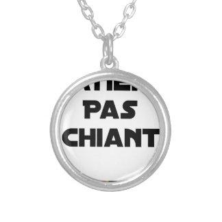 Collier Patient pas Chiant - Jeux de Mots - Francois Ville